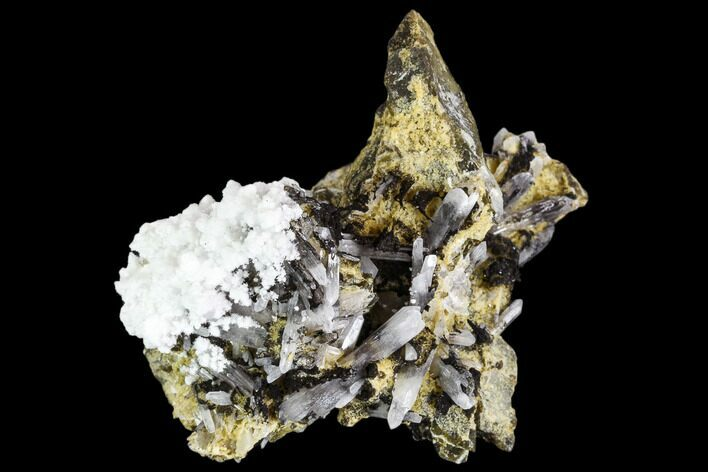 "3.8"" Quartz, Aragonite & Epidote Association - Pakistan"